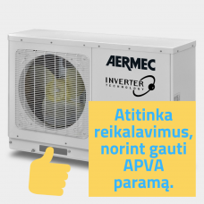 ŠILUMOS SIURBLYS AERMEC HMI 120T